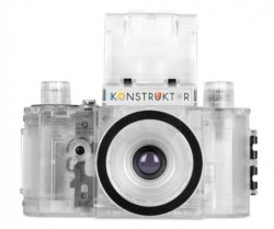 Lomography Konstruktor Transparent SLR DIY Kit